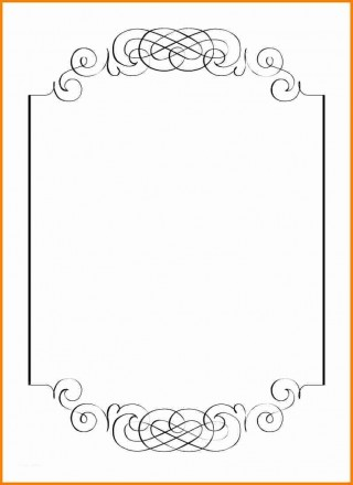 000 Rare Blank Birthday Invitation Template For Microsoft Word Photo 320