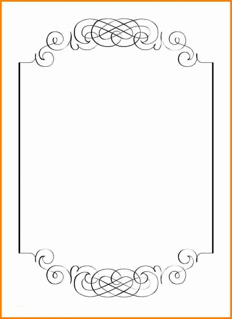 000 Rare Blank Birthday Invitation Template For Microsoft Word Photo 960
