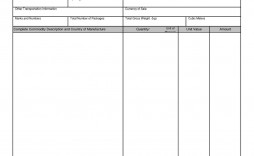 000 Rare Commercial Invoice Template Excel Highest Quality  Free Download