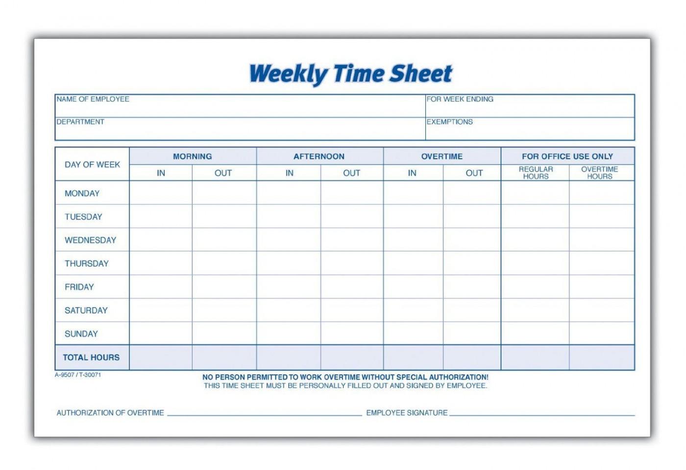 000 Rare Employee Time Card Printable Sample  Timesheet Template Excel Free Multiple Sheet1400