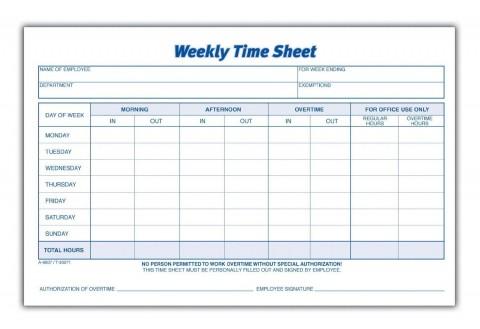 000 Rare Employee Time Card Printable Sample  Timesheet Template Excel Free Multiple Sheet480