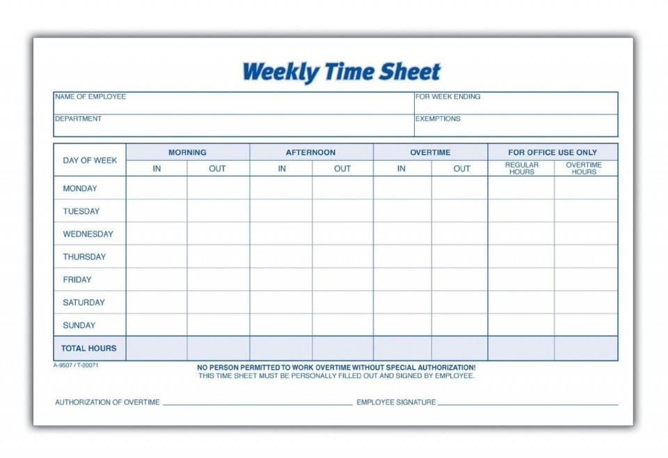 000 Rare Employee Time Card Printable Sample  Timesheet Template Excel Free Multiple Sheet960