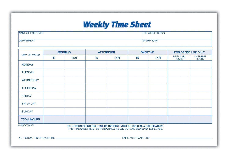 000 Rare Employee Time Card Printable Sample  Timesheet Template Excel Free Multiple SheetFull