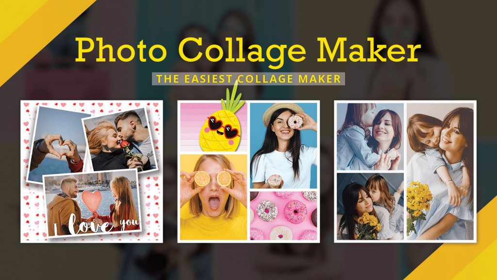 000 Rare Free Photo Collage Template No Download Example Large
