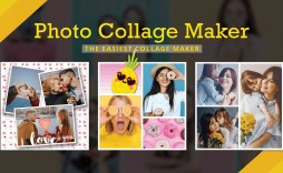 000 Rare Free Photo Collage Template No Download Example