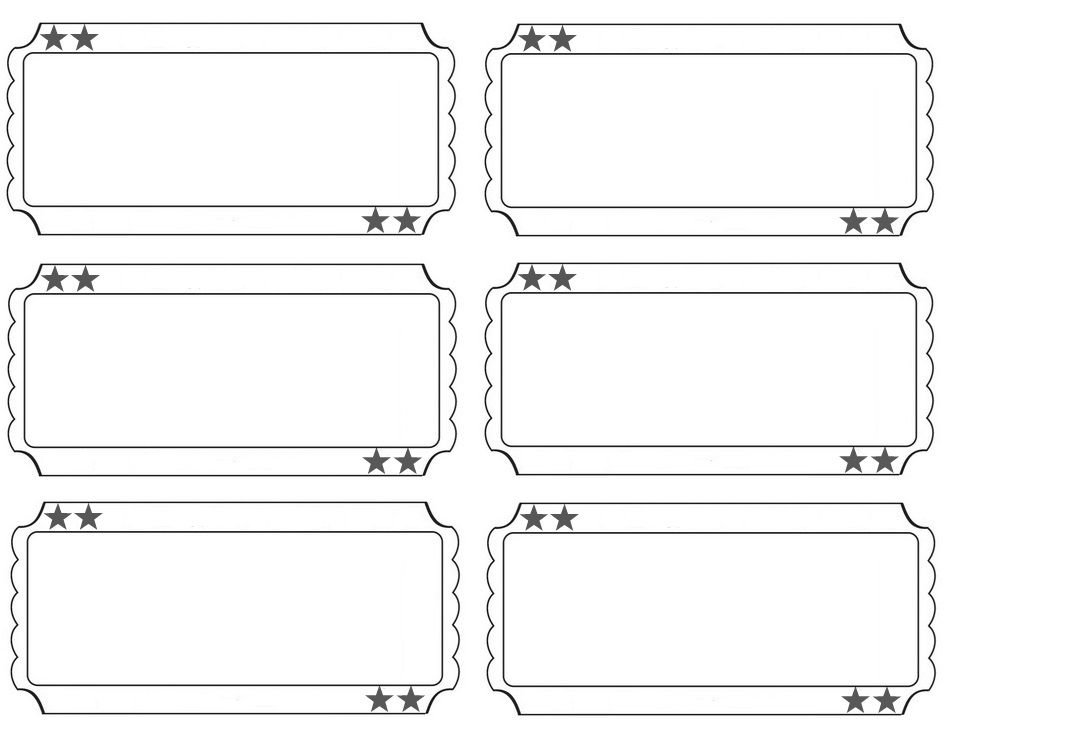 000 Rare Free Printable Ticket Template Highest Clarity  Raffle Printing Airline For Gift ConcertFull