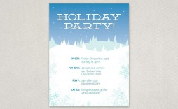 000 Rare Holiday Party Flyer Template Free Design  Office