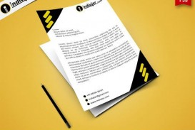000 Rare Letterhead Template Free Download Psd Design  Corporate A4