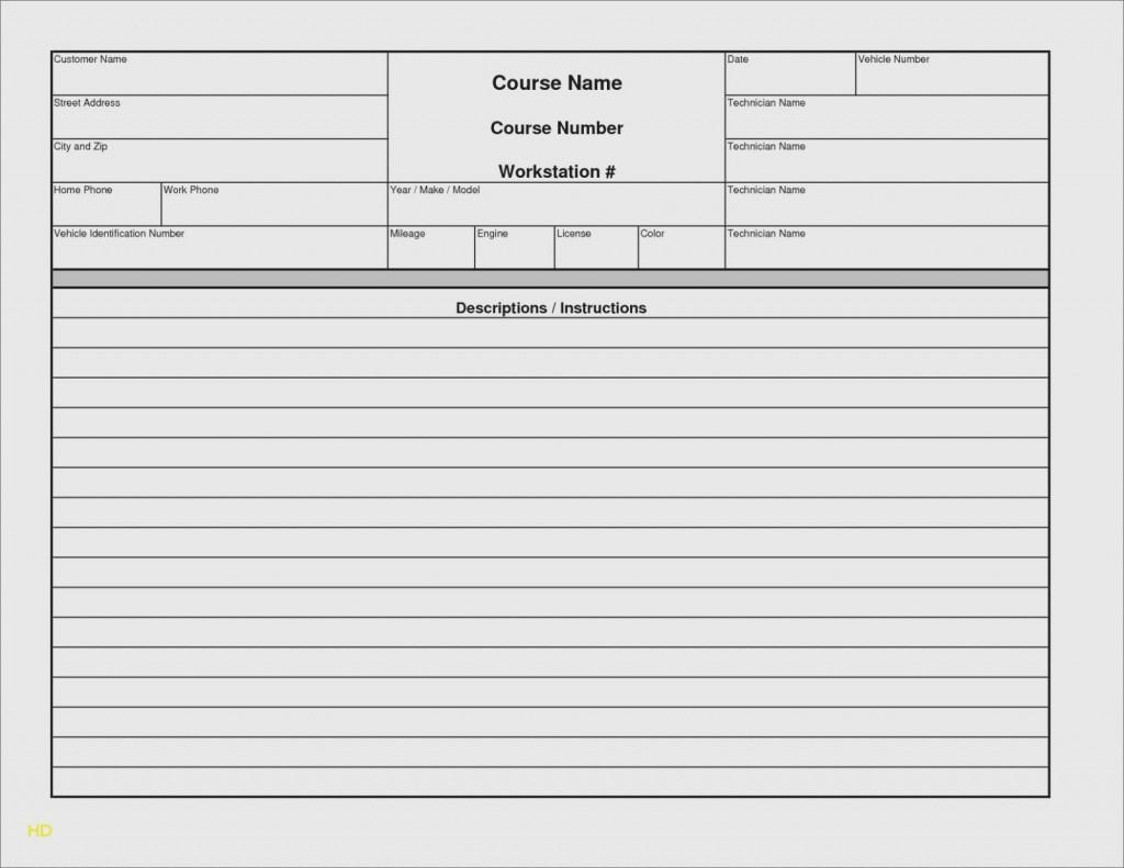 000 Rare Microsoft Excel Auto Repair Invoice Template Image Large
