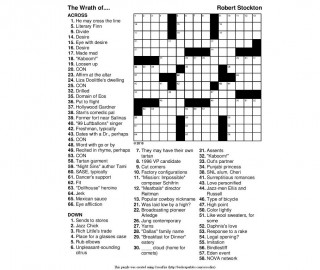 000 Rare Printable Crossword Puzzle For Kid Example 320