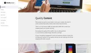 000 Rare Social Media Proposal Template 2019 Example 320