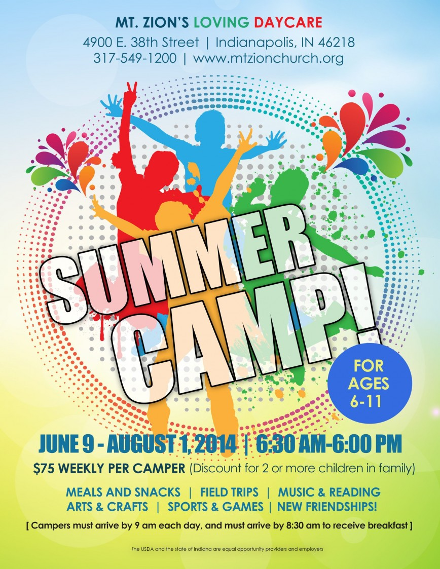 000 Rare Summer Camp Flyer Template Photo  Day Free Word Psd
