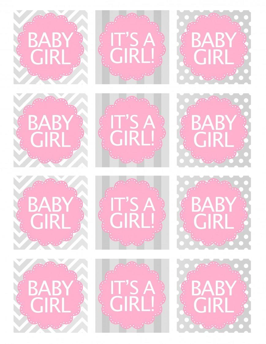 000 Remarkable Baby Shower Printable Girl High Def  Sheet Cake