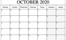 000 Remarkable Blank Monthly Calendar Template Pdf Sample  2019 Printable