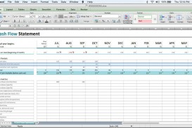 000 Remarkable Cash Flow Sample Excel Photo  Spreadsheet Free Forecast Template