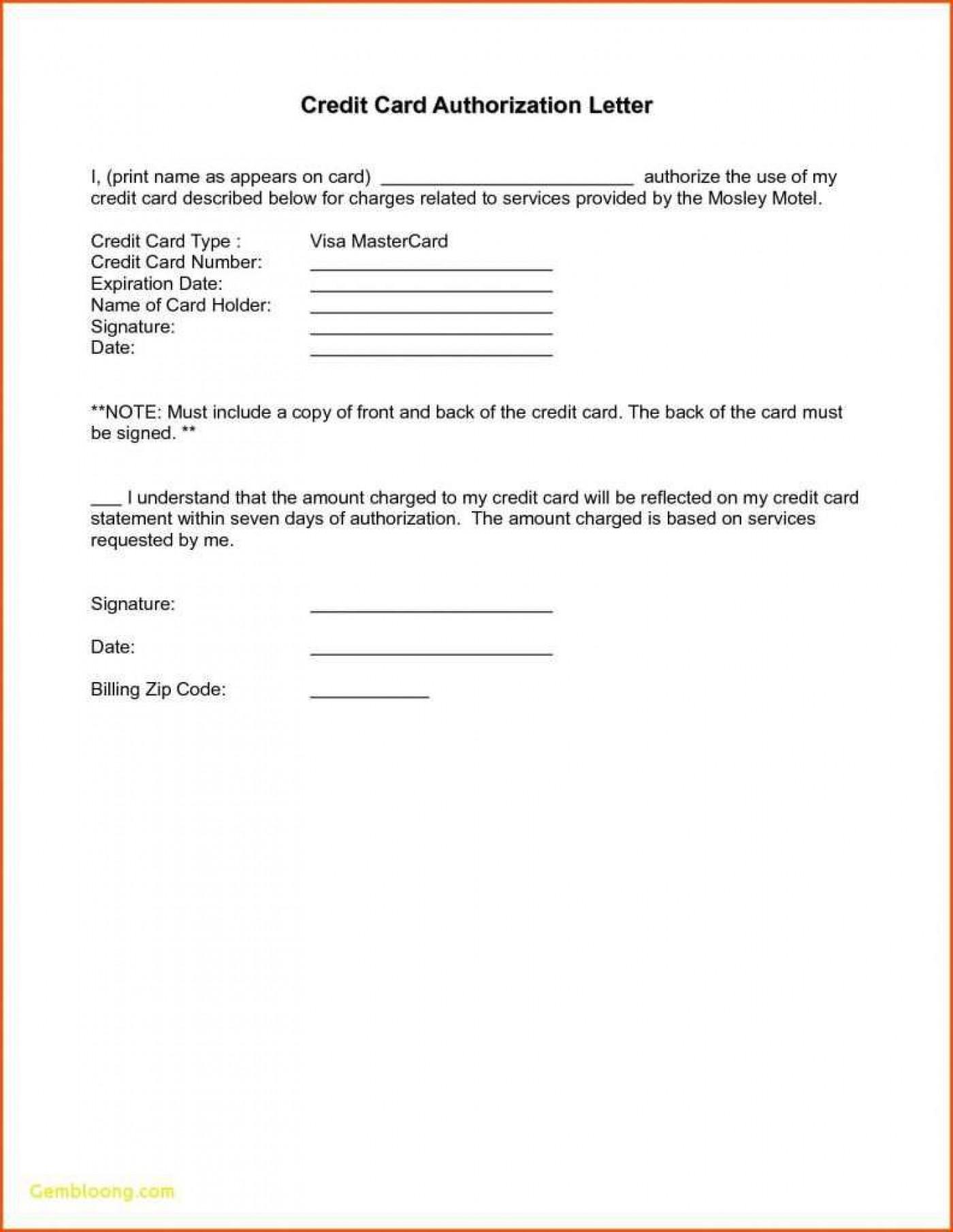 000 Remarkable Credit Card Usage Request Form Template Design 1400