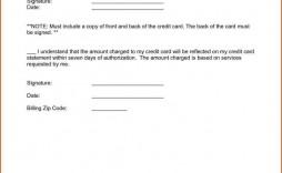 000 Remarkable Credit Card Usage Request Form Template Design