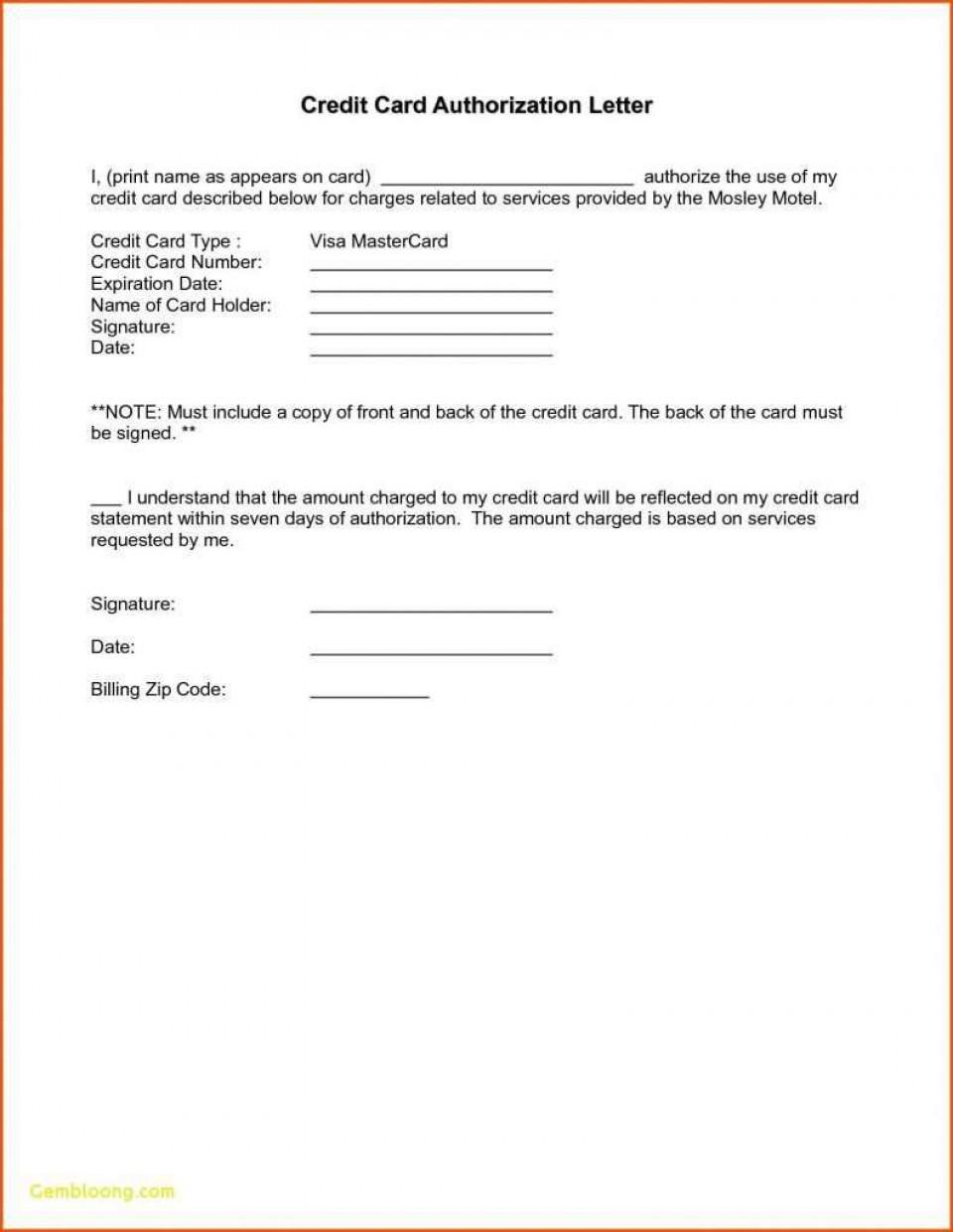 000 Remarkable Credit Card Usage Request Form Template Design 960
