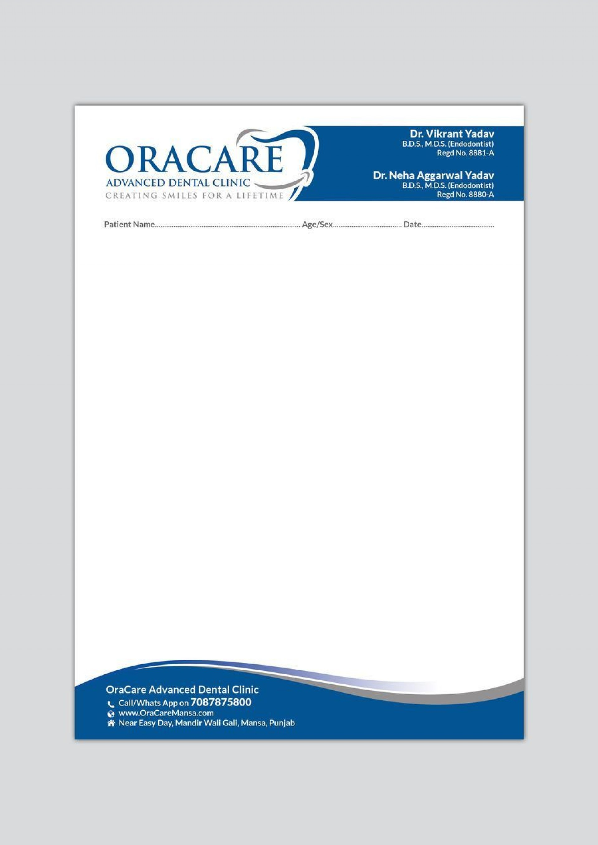 000 Remarkable Doctor Letterhead Format In Word Free Download Inspiration  Design1920