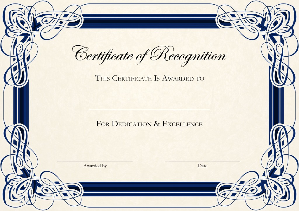 000 Remarkable Free Certificate Template Word Download Picture  Of Appreciation Doc Award BorderLarge