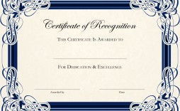 000 Remarkable Free Certificate Template Word Download Picture  Of Appreciation Doc Award Border