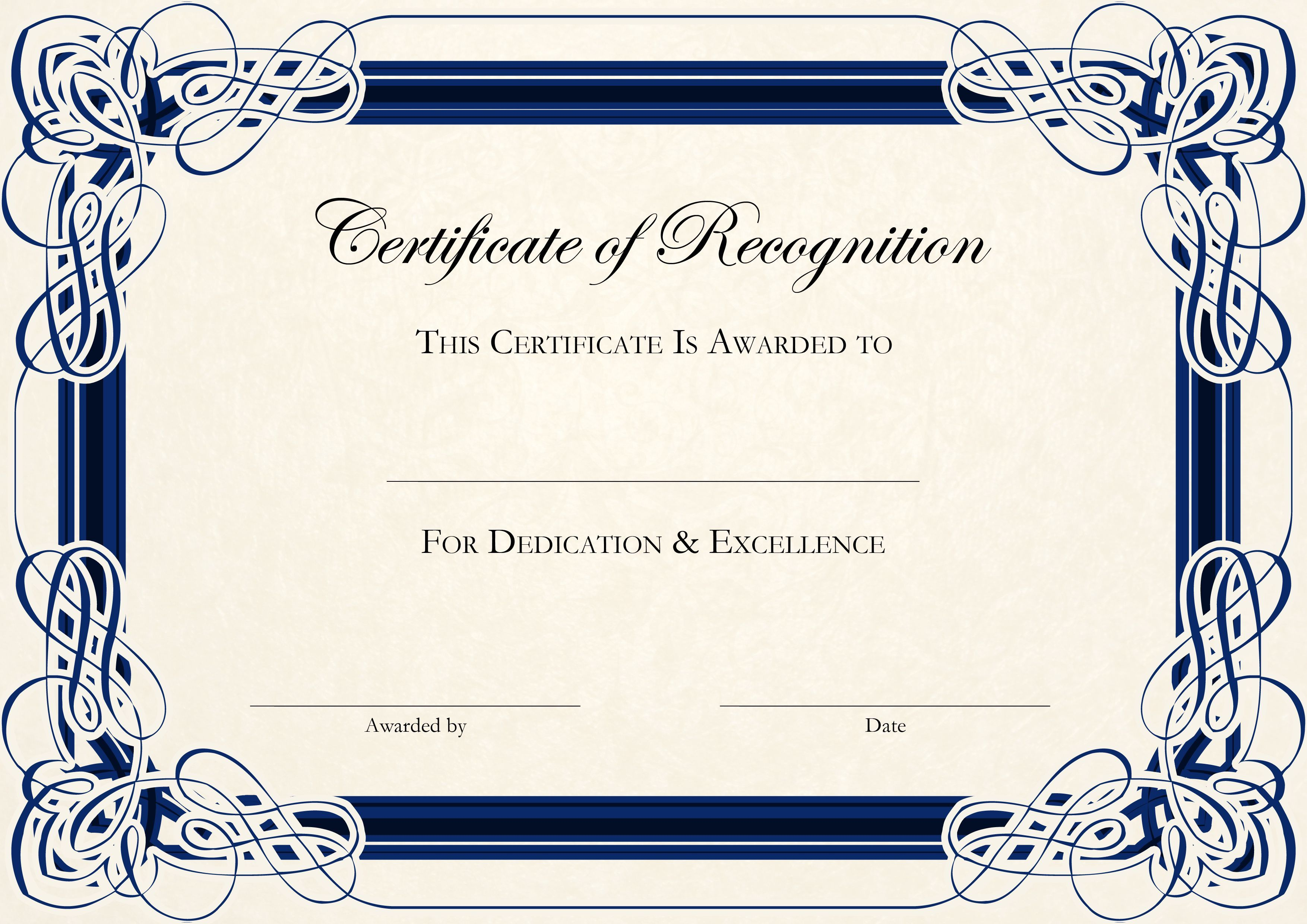 000 Remarkable Free Certificate Template Word Download Picture  Of Appreciation Doc Award BorderFull