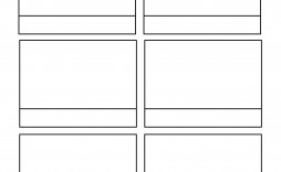 000 Remarkable Free Comic Strip Template Word Idea
