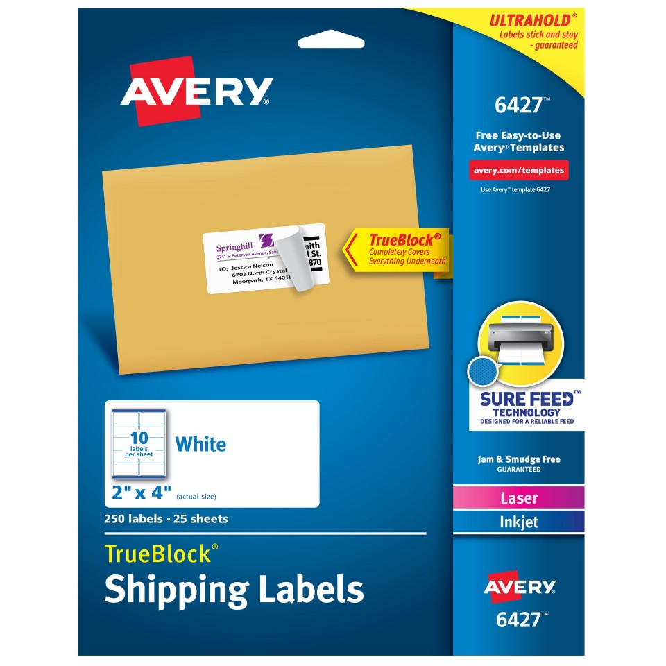 000 Remarkable Free Online Shipping Label Template Picture 960