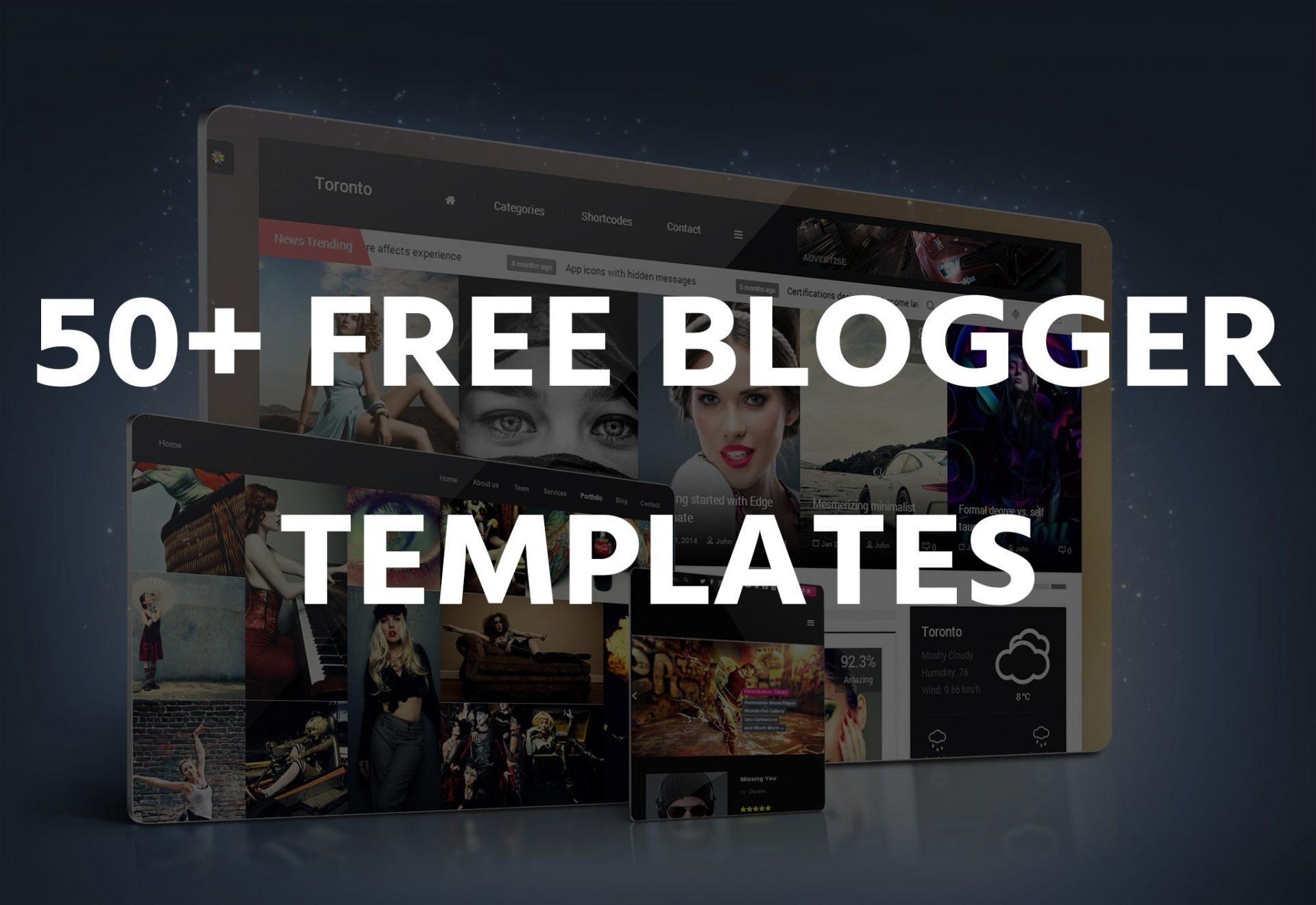 000 Remarkable Free Responsive Portfolio Blogger Template High Resolution 1920