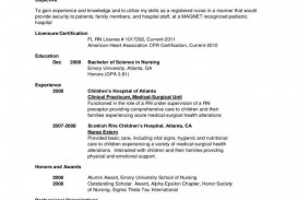000 Remarkable New Rn Resume Template Design