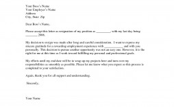 000 Remarkable Professional Resignation Letter Template Image  Best Format Pdf How To Write A