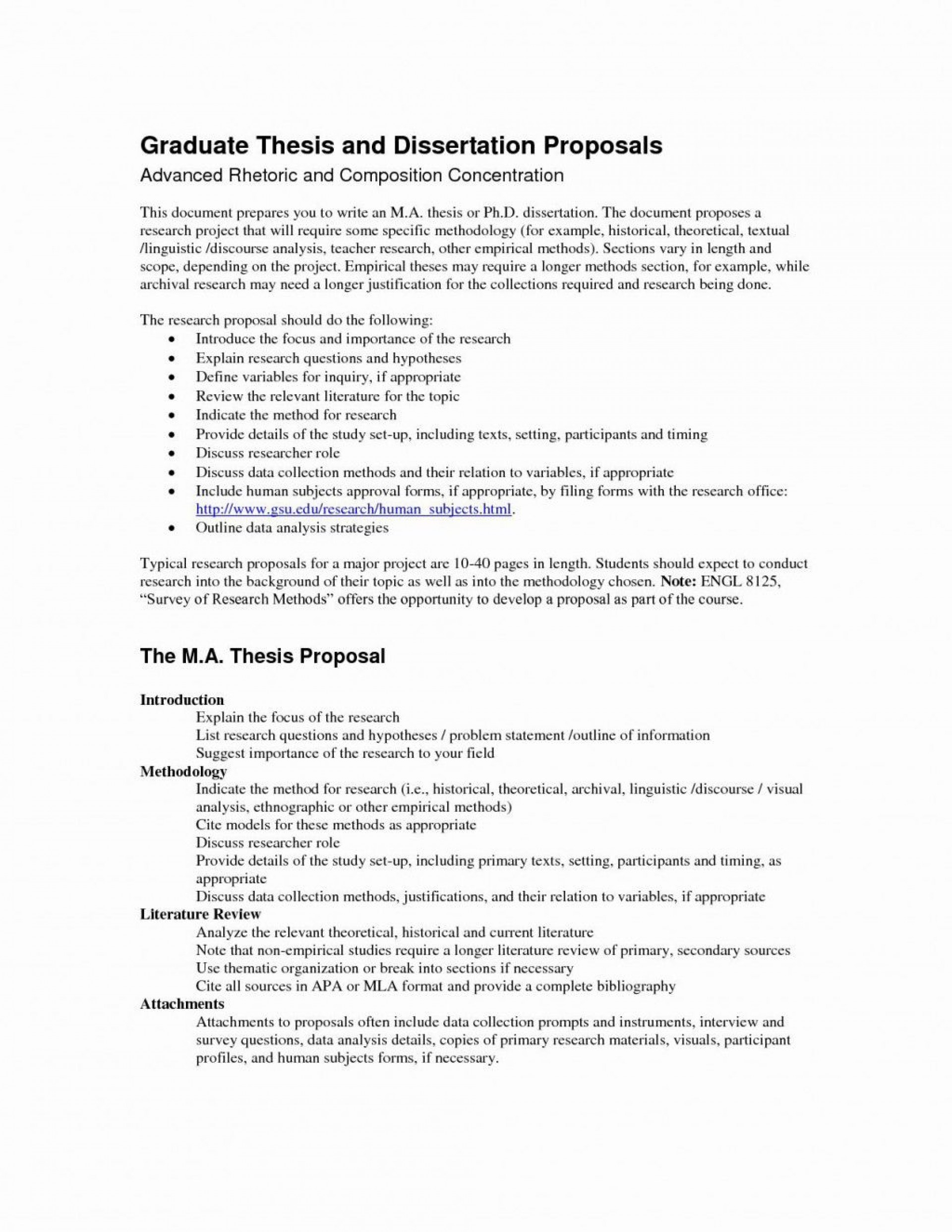 000 Remarkable Research Project Proposal Outline Example Idea 1920