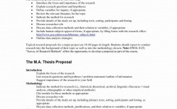 000 Remarkable Research Project Proposal Outline Example Idea