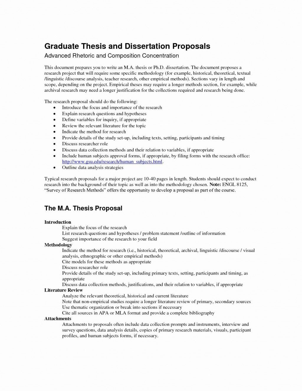 000 Remarkable Research Project Proposal Outline Example Idea Full