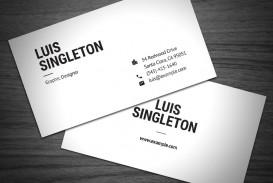 000 Remarkable Simple Busines Card Template Free Concept  Minimalist Illustrator Design