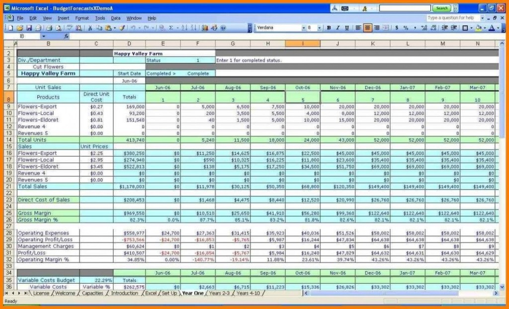 000 Remarkable Simple Excel Budget Template Uk Image Large