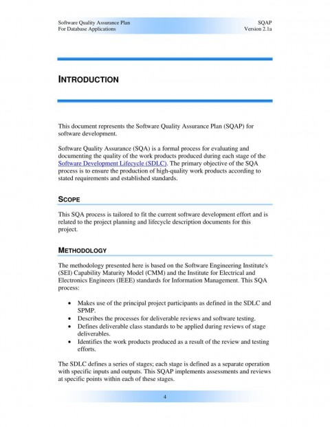 000 Remarkable Software Project Management Plan Example Pdf High Definition  Risk Template480