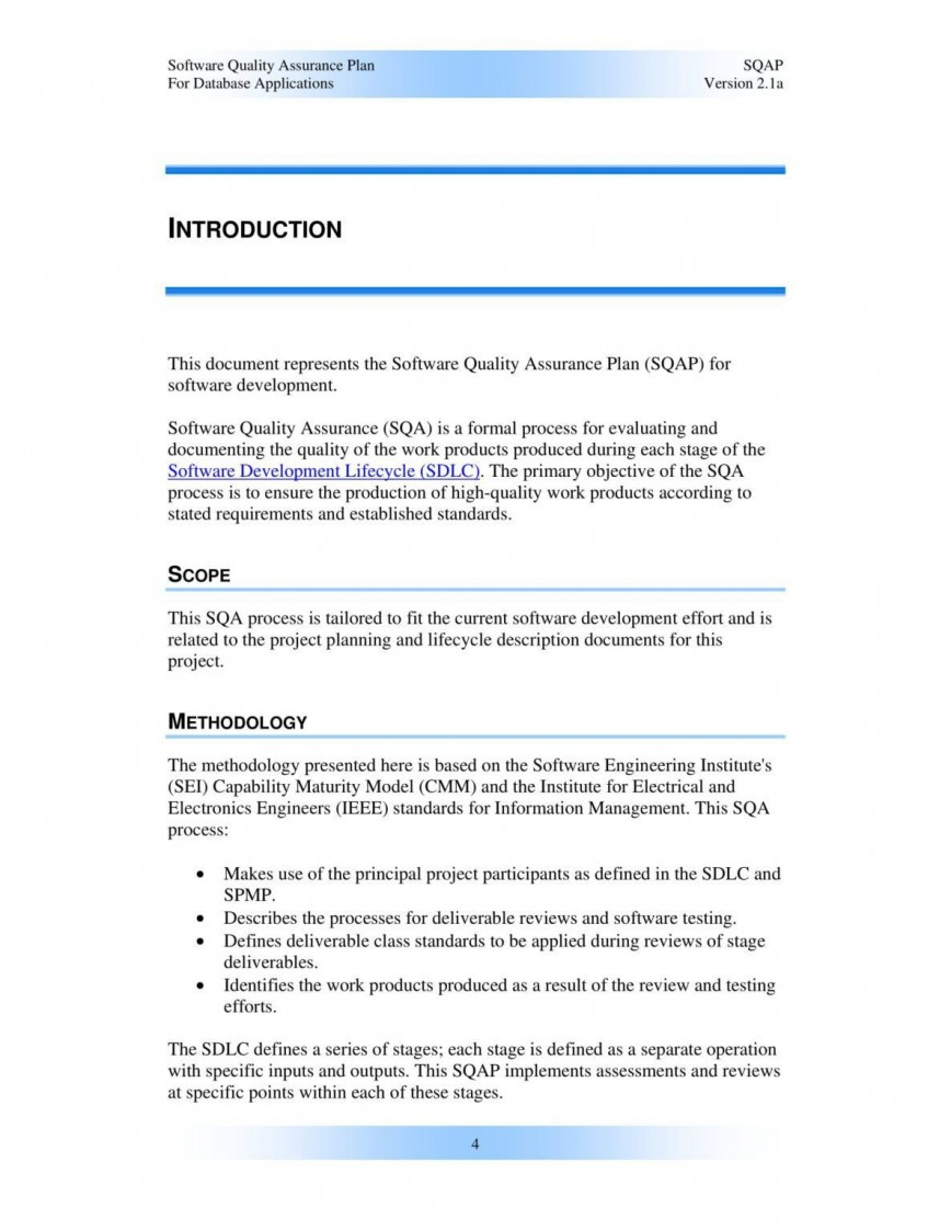 000 Remarkable Software Project Management Plan Example Pdf High Definition  Risk Template