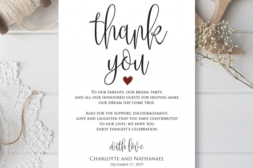 000 Remarkable Thank You Card Template Idea  Wedding Busines Word FreeLarge