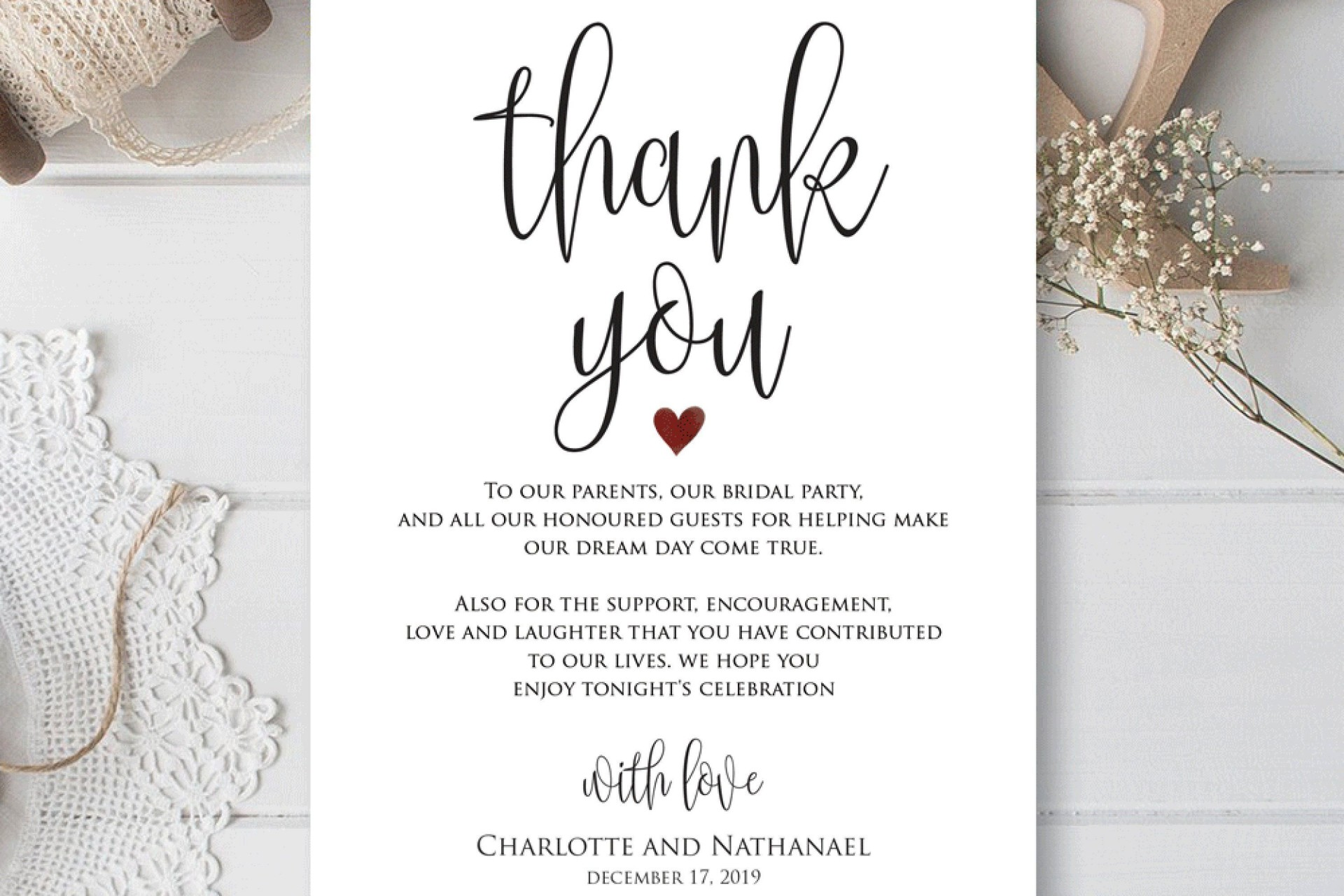 000 Remarkable Thank You Card Template Idea  Wedding Busines Word Free1920