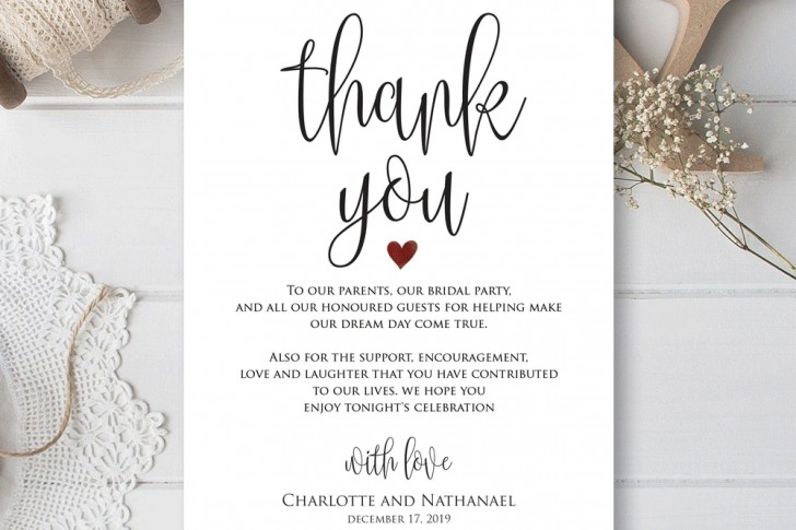 000 Remarkable Thank You Card Template Idea  Wedding Busines Word Free728