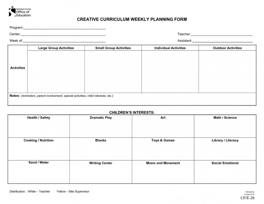 Preschool Weekly Lesson Plan Template from www.addictionary.org