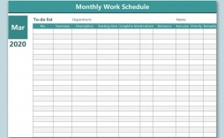 000 Remarkable Work Schedule Calendar Template Excel Example