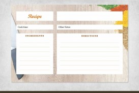 000 Sensational 4 X 6 Recipe Card Template Microsoft Word Sample