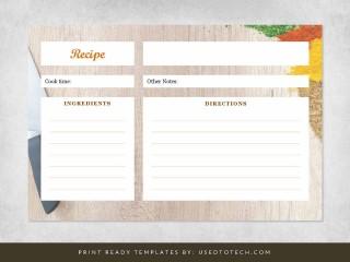 000 Sensational 4 X 6 Recipe Card Template Microsoft Word Sample 320