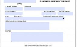 000 Sensational Auto Insurance Card Template Pdf Inspiration  Car Fake Geico Filler