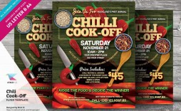 000 Sensational Chili Cook Off Flyer Template Photo  Halloween Office Powerpoint