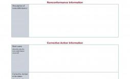 000 Sensational Corrective Action Report Template Concept  Doc 8d Format Pdf