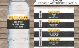000 Sensational Diy Water Bottle Label Template Free Highest Clarity