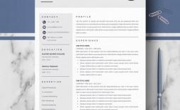 000 Sensational Download Resume Template Free Mac Design  For